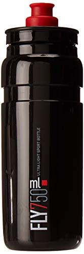 Elite Fly Trinkflasche, schwarz/rot , 750 ml