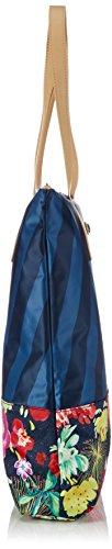 Shopper Cittadino Oleoso Oes5169-828 Damen Shopper 38x41x7 Cm (bxhxt) Blau (navy 536)