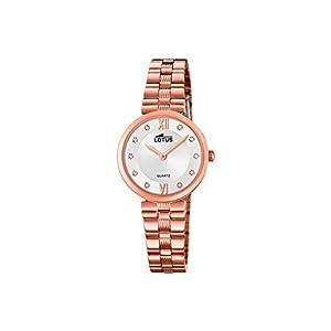 Lotus Reloj Analógico para Mujer de Cuarzo con Correa en Acero Inoxidable 18544/2