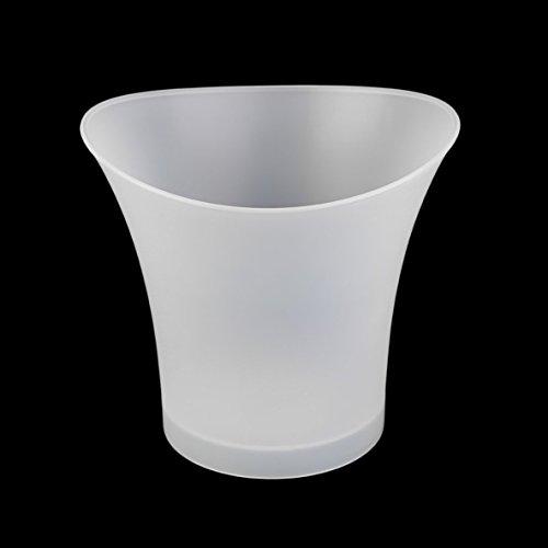Moliies 5L plástico Prueba Agua LED Cubos Enfriadores