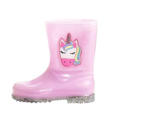 GladRags Kids Girls Childrens Wellington Boots Wellies Wellys Rain Snow Warm Autumn Winter Shoes Size UK Infant Child 6 7 8 9 10 11 12 13 1 2 3 4 5