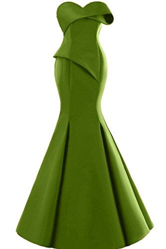 Missdressy - Robe - Sirène - Femme Olive