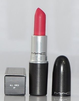 MAC Retro Matte Lipstick, All Fired Up, confezione da 1 (1 x 3 g)