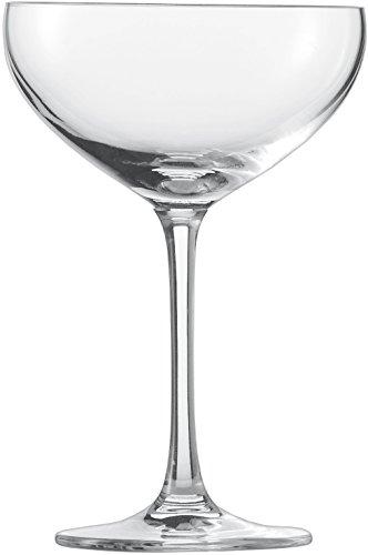 Schott Zwiesel 111219 Sektschale, Glas, transparent, 6 Einheiten