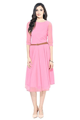 western dresses for women Pink Sketer Colour exclusive Dress ( All Size available )