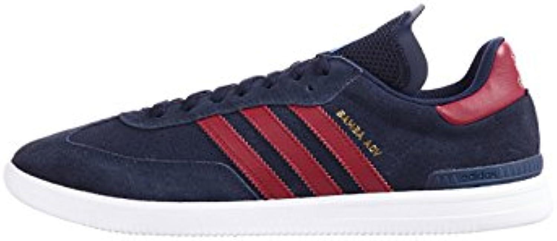 Adidas Samba ADV, Zapatillas de Skateboarding Unisex Adulto, Azul (Maruni/Buruni/Ftwbla 000), 40 2/3 EU
