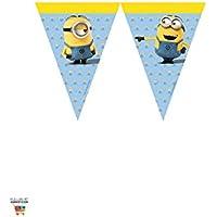 Procos 87182-row Minions flags-yellow/luz azul