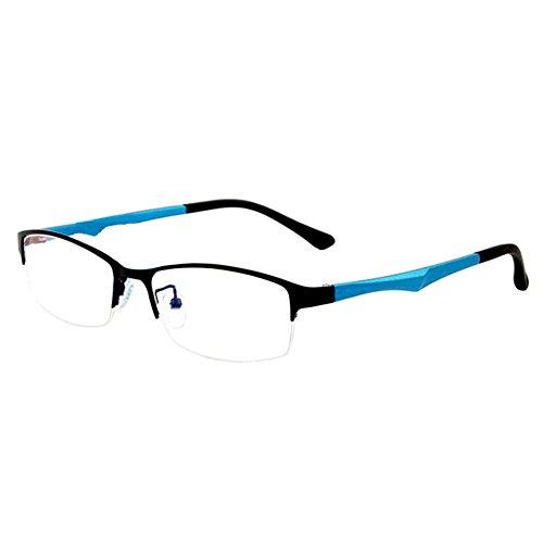 Haodasi Metall Hälfte Rahmen TR90 Geschäft Kurzsicht Entfernung Brille Kurzsichtigkeit Myopia...