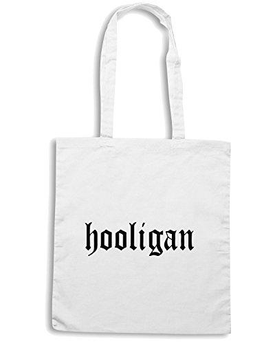 T-Shirtshock - Borsa Shopping OLDENG00113 hooligan Bianco