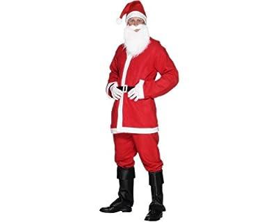 Smiffy's Men's Santa Suit Costume