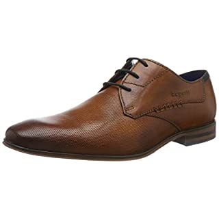 Bugatti Herren 312666082100 Derbys, Braun (Cognac 6300), 44 EU