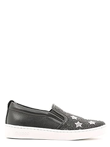 Guess FLGLO3-ESU12 Slip On Femme Fibres Textiles Noir 36