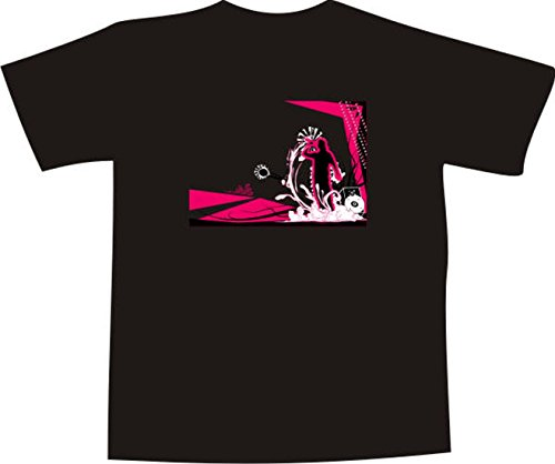 T-Shirt F1155 Schönes T-Shirt mit farbigem Brustaufdruck - Aufregung Bühne Mehrfarbig
