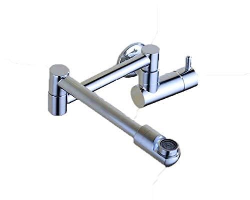 Ldoons cucina bagno muro di rame pieghevole rotante balcone zazzera piscina fredda singolo un rubinetto