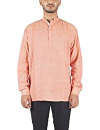 Bihar Khadi (A Bihar Govt. Enterprise) Men's Cotton A-Line Kurta (Multi-Colored, 40)