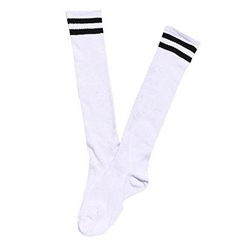 MOIKA Kinder Fußball Socken- Sport-Lange Socken über kniehohen Socken-Baseball-Hockey Socken Junge Mädchen Sneaker Socken