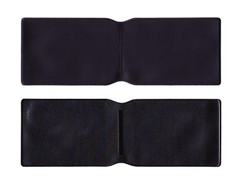 5x schwarz Kunststoff Oyster Card Wallet Abdeckung/Halterung/