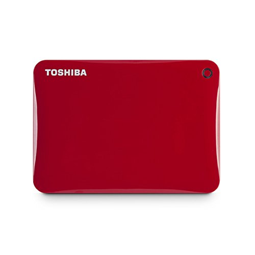 Toshiba CONNECT II 1TB External Hard Disk Red Price in India