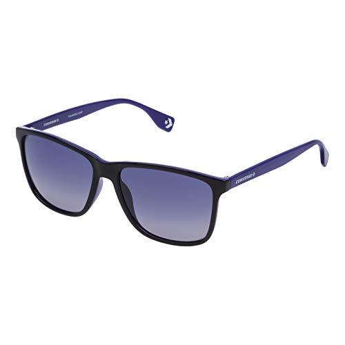 Converse SCO05058G75P Gradient Square Sunglasses Black/Purple