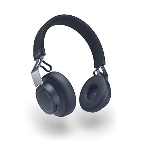 Jabra Move Style Edition Wireless Bluetooth Headphones - Navy Blue Best Price and Cheapest