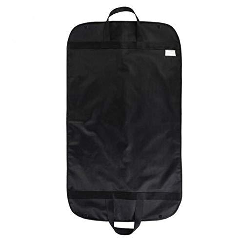 Carrier Schwarz Kleidersäcke (YOUTHLIKEWATER Staubdicht Kleiderbügel Mantel Kleidungsstück Anzug Abdeckung Aufbewahrungsbeutel Kleidung Aufbewahrungskoffer für Kleidung Staubschutz Protector Travel Carrier, schwarz)