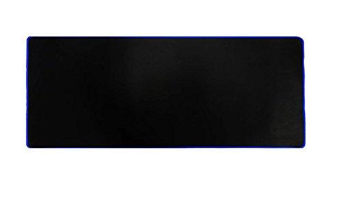 Woodlandu gro? Gaming Mouse Pad Gen?hte Kanten Geschwindigkeit seidiger Oberfl?che rutschfeste Gummiuntermatten 300x780x5mm/11.8x30.71x0.2inch Blau Edges