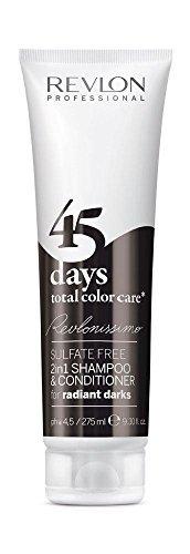 Revlon Revlonissimo 45 Days 2in1 Shampoo & Conditioner Radiant Darks 275ml by Revlon