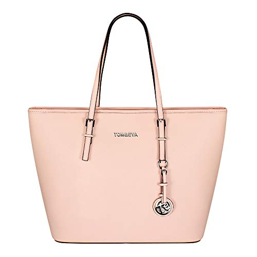 Tom & Eva Damen Tasche 6228F TE-Jet Set Travel Bag Soft Pink (hellrosa)