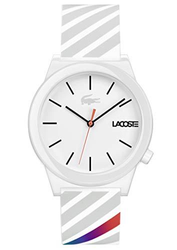 Lacoste Reloj Análogo clásico para Hombre de Cuarzo con Correa en Silicona 2010935