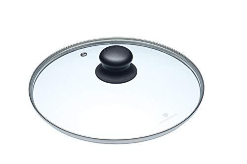 Kitchencraft coperchio in vetro per pentola, trasparente, 24 cm, 1 pezzo