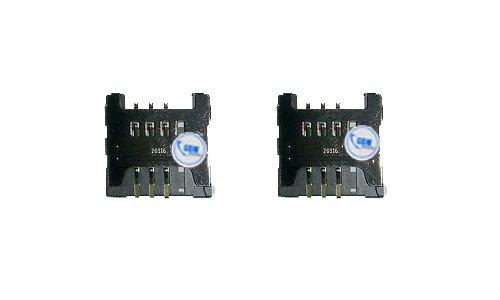 Sim Karte Halter Flex für Samsung Galaxy Y GT S5360 Bold Card Tray Metal Holder Neu!