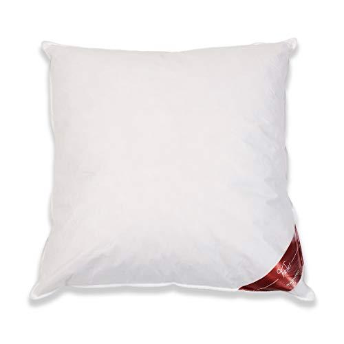 Traumschloss Feder Kopfkissen Weiß 80 x 80 cm