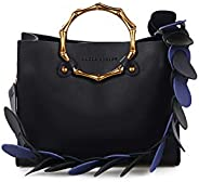 Laura Ashley Tisbury Tote Bag with Extra Pouch for Women, Leather