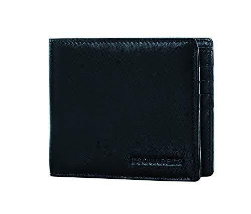 Imagen de dsquared2 men dante billfold designer leather wallet  w16wa40080152124  dsquared bifold wallets for men made in italy