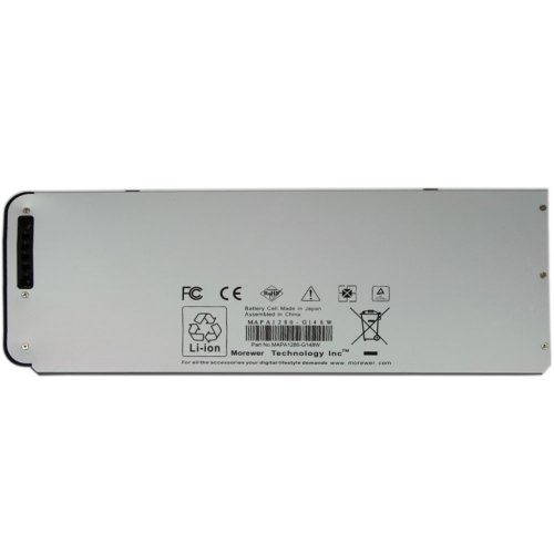 Morewer(TM) Nuovo Laptop Batteria Imballare per Apple A1280 MB771 MB771LL/A MB771*/A MB771J/A MacBook 13