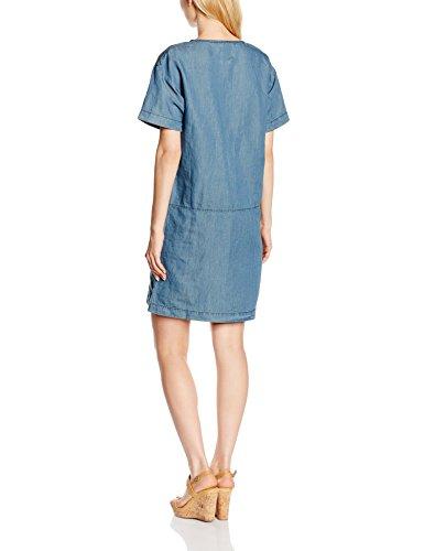 Bensimon Gita - Robe - Uni - Manches courtes - Femme Bleu