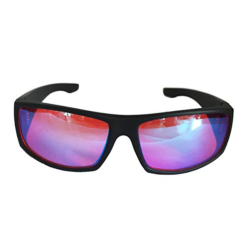 ZJXHAO Farbenkorrekturgläser für Red/Green Colour Blind (Colour Blind Glasses) Color Vision Disorder Color Weakness Art Chemical Construction Design Unisex