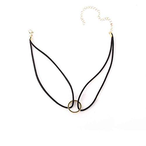 Gothic Black Velvet Charm Anhänger Retro Choker Kragen Halskette Schmuck Minzhi