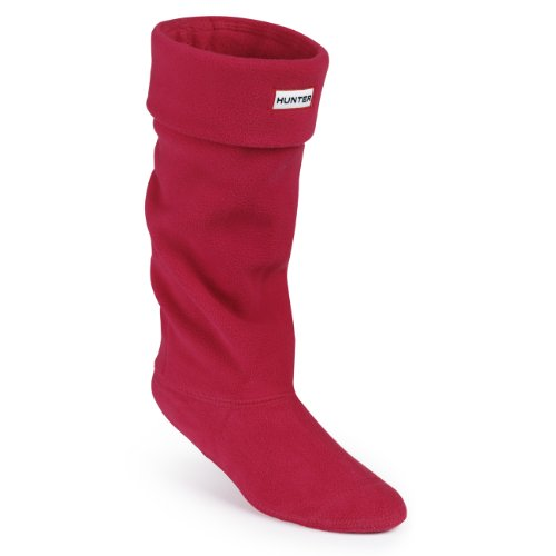 Hunter Boots Calcetines Welly Socks de forro polar para botas de agua - rojo - L