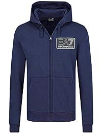 27b38bcd30d4 Emporio Armani - Sweat-Shirt à Capuche - Homme Bleu Bleu