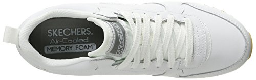 Skechers OG 85 Ditzy Dancer, Baskets Basses Femme Blanc