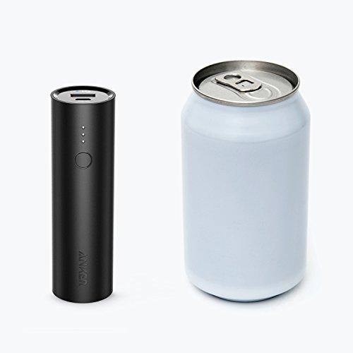 Anker PowerCore 5000mAh Externer Akku Powerbank Batterie Extra Kompakt Slim Handy Ladegerät mit Power IQ für iPhone X 8 8Plus 7 6s 6Plus, iPad, Samsung Galaxy und weitere Smartphones (Schwarz) - 3
