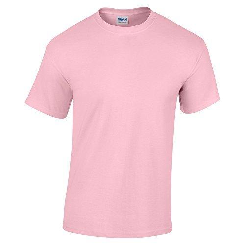 Gildan Heavy Cotton TM Adult T-Shirt M,Licht Rosa