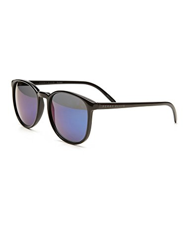 Perry Ellis pour homme Bas sans monture Lunettes de soleil en métal Marron Pe14–3, comprend Perry Ellis Pouch, protection UV 100%
