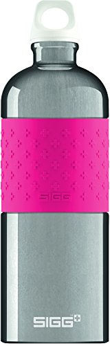 Pink Sigg Trinkflasche (SIGG Color Your Day, 1.0 L, Trinkflasche, Aluminium, BPA Frei, Pink)
