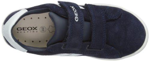 Geox J Maltin B. Q, Jungen Sneaker Marineblau / Weiß