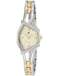 Charles-Hubert 2C Paris Charles-Hubert, Paris Women's 6806 Classic Collection Two-Tone Watch