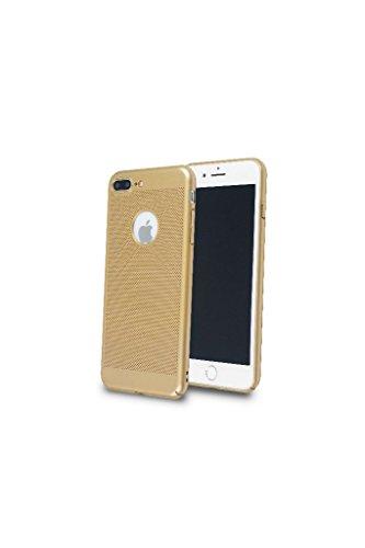 iPhone 8 Plus Hülle - iPhone 7 Plus Hülle, Hard PC Dünn, gold