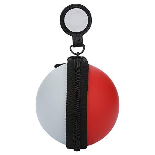 TAOtTAO Schalten Sie Poke Ball Plus Tragetasche für Switch Poke Ball und Controller Eevee Game Bag (A)