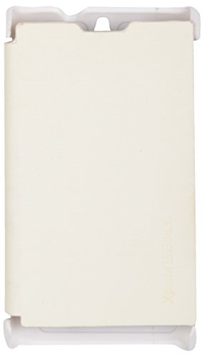 iCandy Flip Cover for Sony Xperia E - White  available at amazon for Rs.109